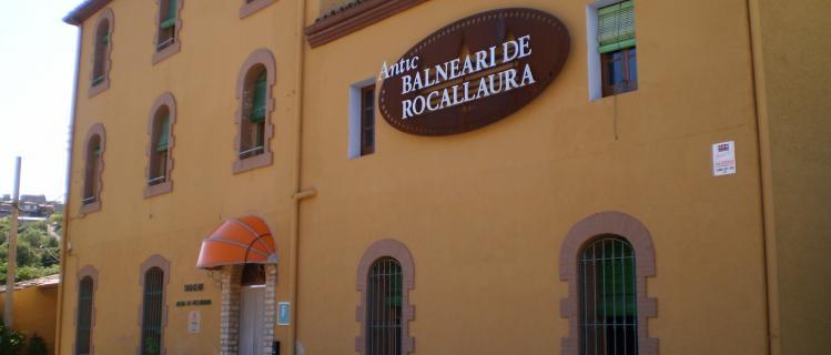 Antic Balneari de Rocallaura (P*) -Fonda i Casa de Colònies
