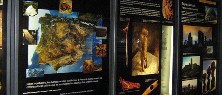 Centre d'interprétation de l'art rupestre des montagnes de Prades (section spéciale du Musée régional)