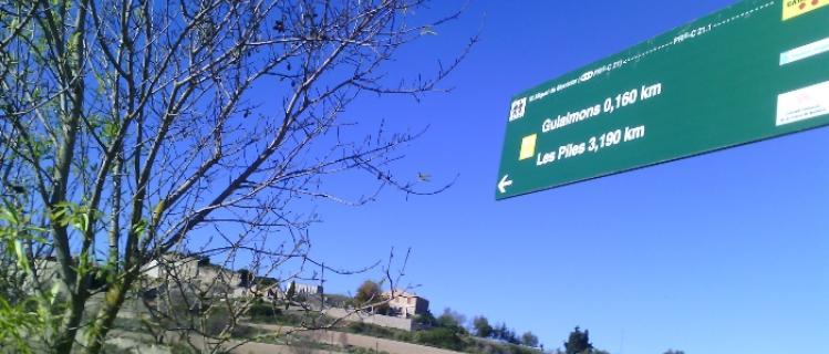 Antiguos caminos de Les Piles
