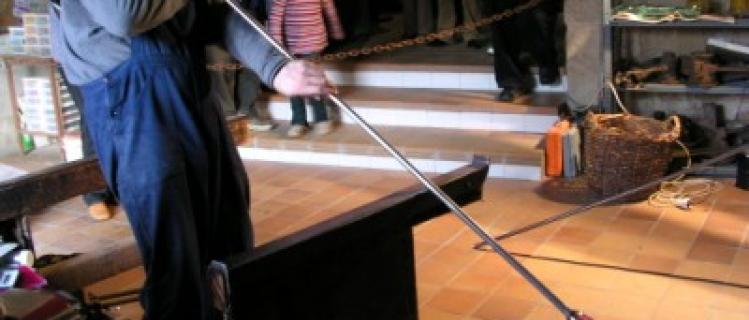 Vidrio soplado en el Museo del Vidrio de Vimbodí
