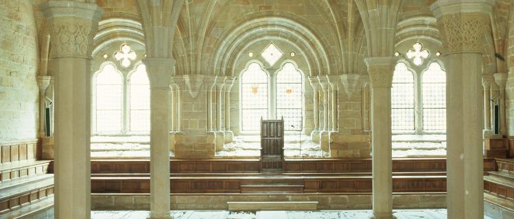 Monestir de Santa Maria de Poblet, Sala Capitular