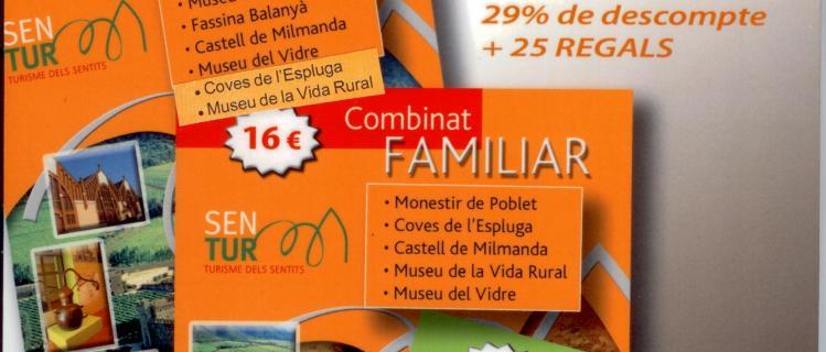 Entrades combinades familiars als museus de l'Espluga de Francolí i de Vimbodí i Poblet