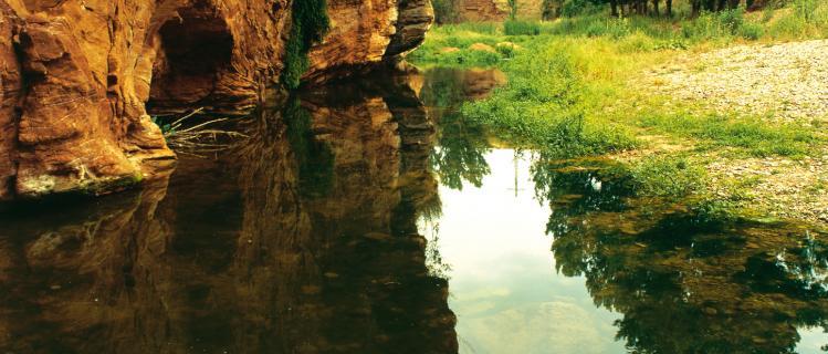 River Anguera in Pira