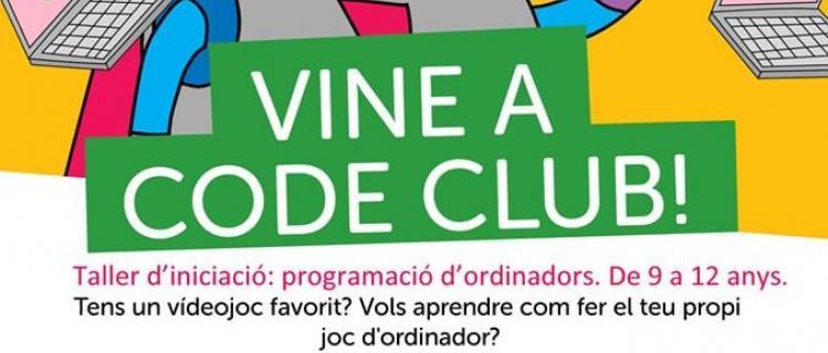 Code Club a la Biblioteca d'Agramunt