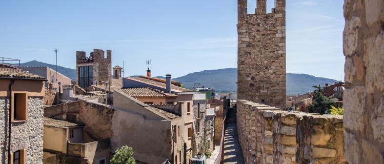 Visita la muralla y el paso de ronda de Montblanc