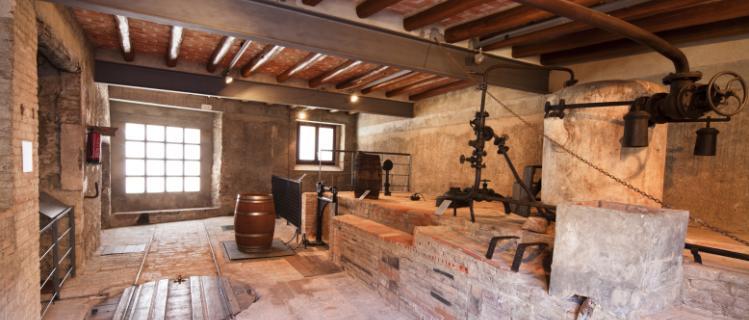 Fassina Balanyà - Museu de l'antiga fàbrica d'aiguardent