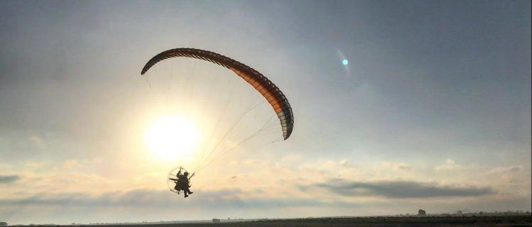 Volager, paramotor school