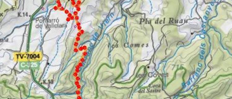 Camino de Viern  - VALLCLARA