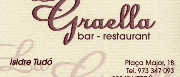 Bar-Restaurant La Graella a Verdú