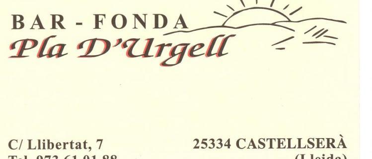Fonda Pla d'Urgell