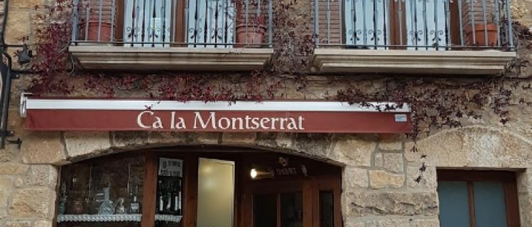 Restaurant Ca la Montserrat