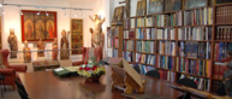 Biblioteca de la fundación privada catalana para la arqueología ibérica y colección numismática