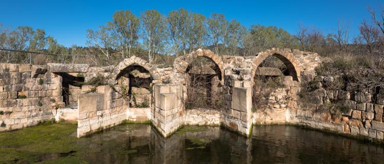 Moulins Médiévaux Hydrauliques (section spéciale du musée regional)