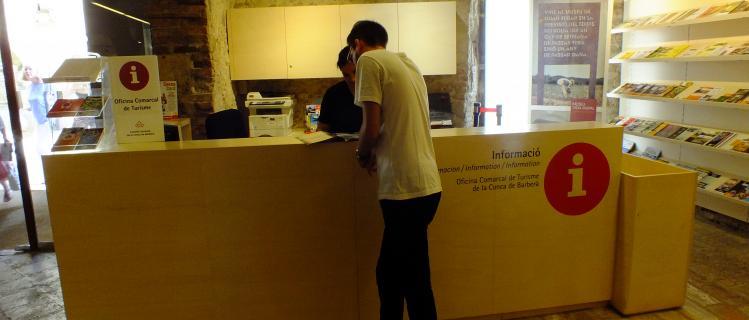 Oficina Comarcal de Turisme de la Conca de Barberà -TANCAT-CERRADO-CLOSED -FERMÉ