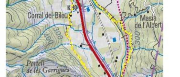 De Vilaverd al Clot d'en Goda por el valle de los ríos Francolí y Brugent