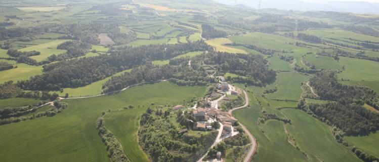 El valle del río Corb