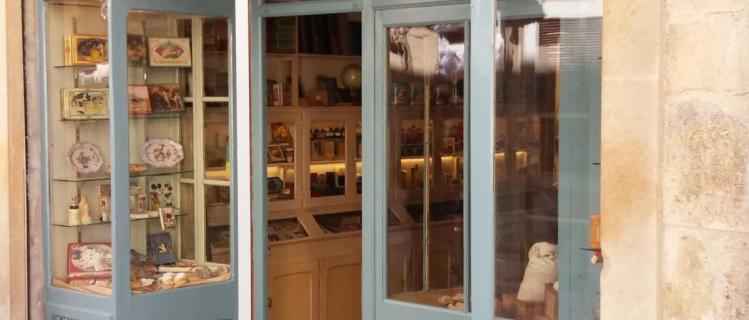 Visita a cal Jaume Punto de Santa Coloma de Queralt, la botiga del passat