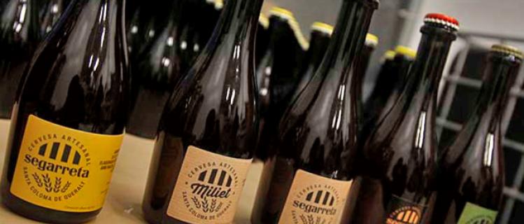 Visita i tast de cervesa Segarreta