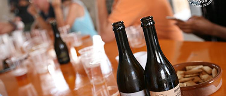 Visita + Maridaje de cerveza Segarreta con quesos Sant Gil d'Albió